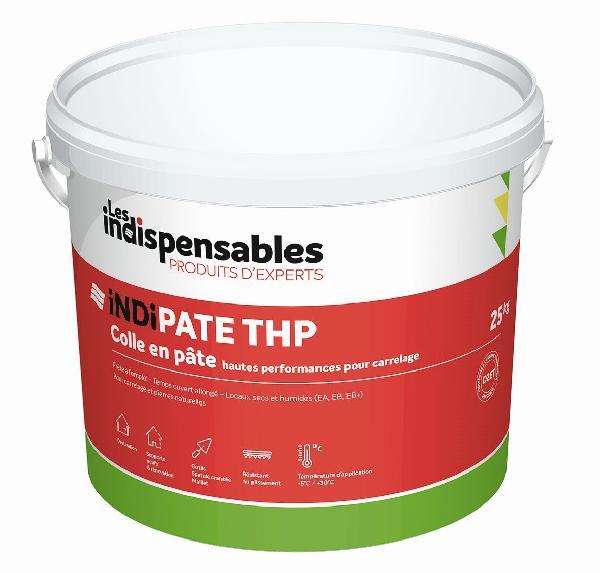Colle pâte INDIPATE THP blanc seau 25kg D2TE
