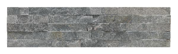 Parement sur résine TRAMEZZO 15x60cm Ep.10-30mm grigio