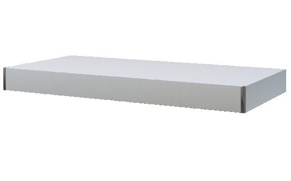 Plan de travail TAVALONE bois blanc 90x48x8