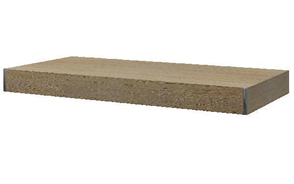 Plan de travail TAVALONE bois tabacco 90x48x8