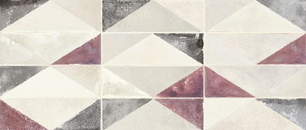 Faïence BELLEVILLE mix couleurs satiné 26x60,5cm Ep.9mm
