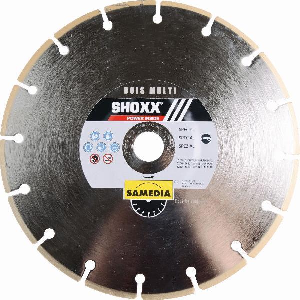 Disque diamant Ø125mm SHOXX bois multi