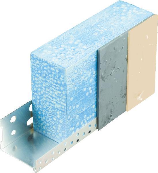 Profilé de départ ALU-ISOL IPDA160-1 pour isolant 160mm 2,5m