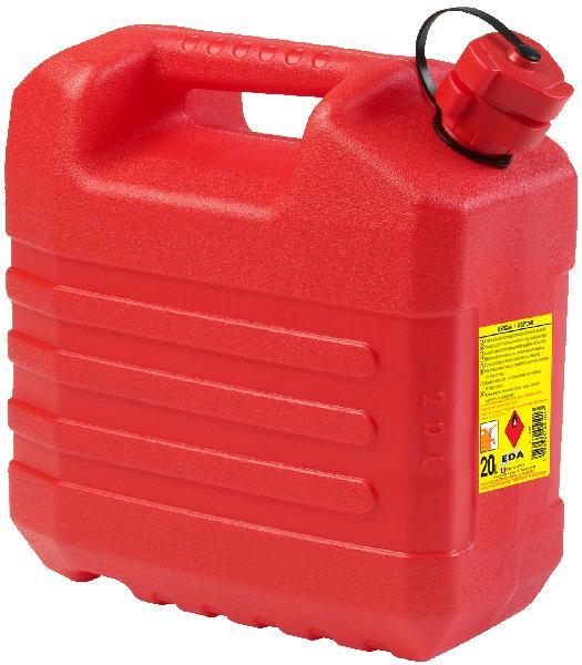 Jerrican plastique rouge 20L