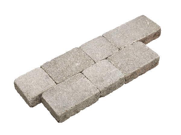 Pavé TRINEO 3 formats gris Ep.6cm