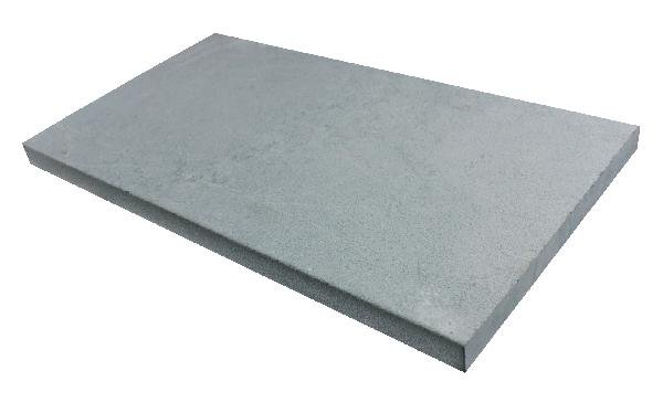Margelle bord droit ROYAL grey 33x61cm Ep.3,2cm