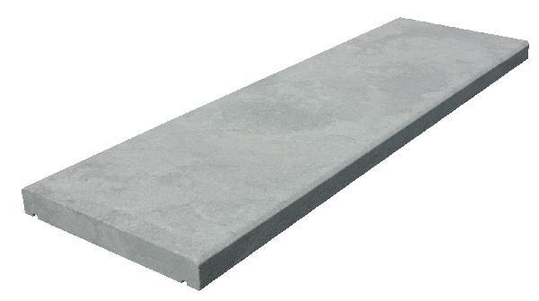 Couvertine ROYAL 100x30cm Ep.4cm grey