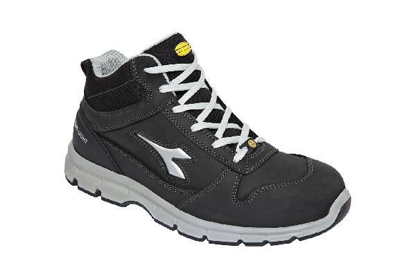 Chaussures de sécurité hautes RUN II noir S3 SRC ESD T.45