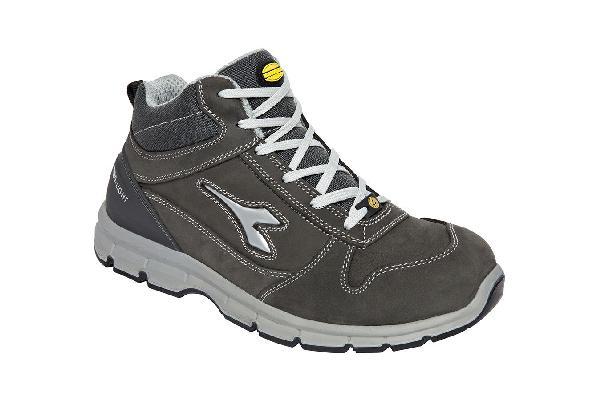 Chaussures de sécurité hautes RUN II gris S3 SRC ESD T.43