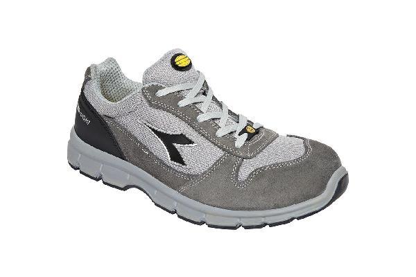 Chaussures de sécurité basses RUN II TEXTILE gris S1P SRC ESD T.45