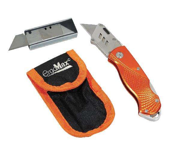 Couteau pliable PRO ERGOMAX + 5 lames