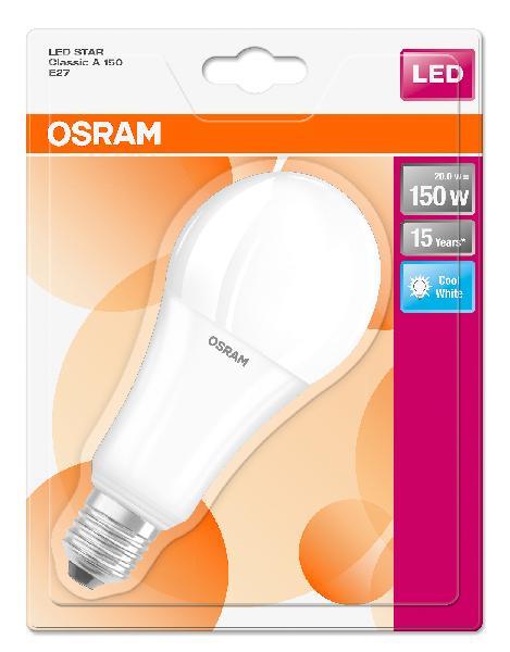 Ampoule led LEDSTAR CLASSIC A 20W E27 840