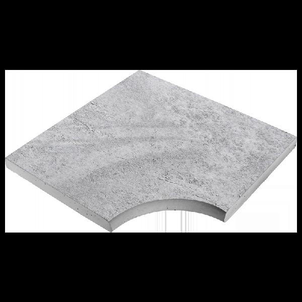 Angle droit CALYPSO 50x50cm Ep.3,5cm ardèche