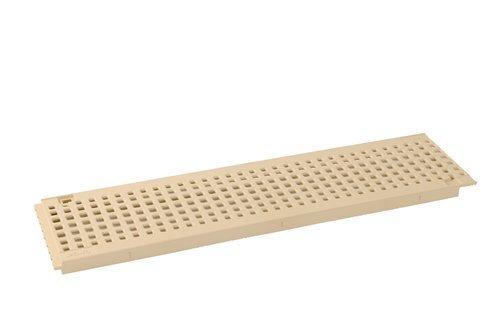 GRILLE PVC GR77PS 13CM 0,50M SABLE A15