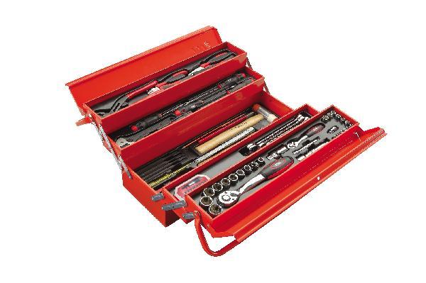 Caisse à outils métal 113 pièces