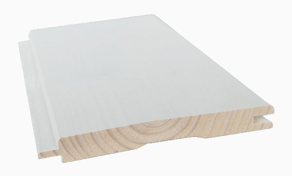 Lambris épicéa AB blanc micro GO 13,5x111mm 4,75m paquet 6