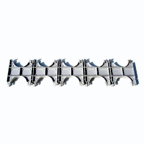 Peigne double tranchable gris pour gaine LST Ø60mm