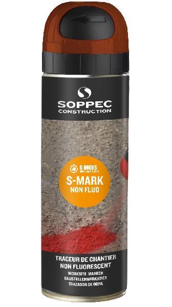 Traceur de chantier SMARK 500ml marron