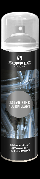 Peinture de galvanisation 500ml zinc alu brillant