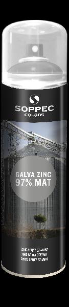 Peinture de galvanisation 500ml zinc 97% mat