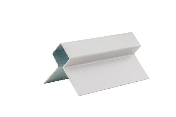 Profil d'angle CEDRAL CLICK exterieur blanc créme C07 3,00m