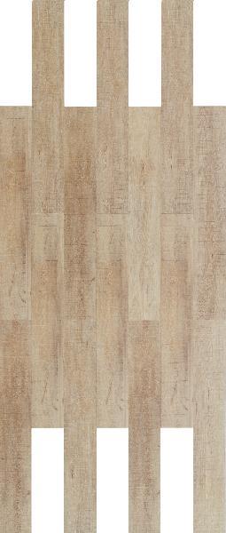 Sol vinyle HYDROCORK sawn bisque oak 06x195x1225mm