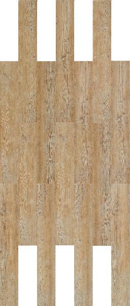 Sol vinyle HYDROCORK sawn twine oak 06x195x1225mm