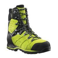 Chaussures de sécurité hautes PROTECTOR ULTRA LIME verte T.41