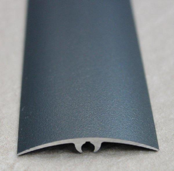 Seuil inclinable alu anodisé gris sablé 42mm 2m