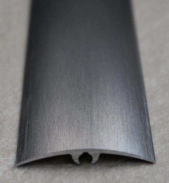 Seuil inclinable alu anodisé brossé 42mm 2m