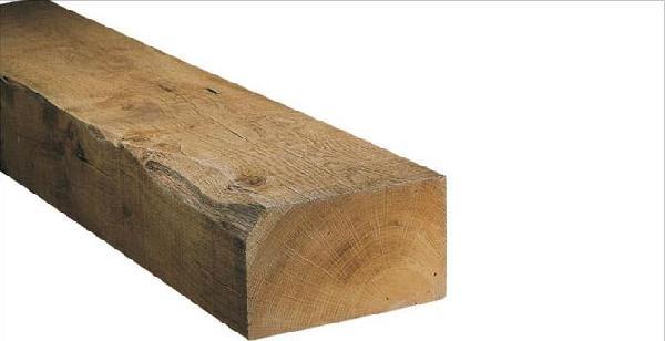 Traverse chêne non traité 120x240mm 2,00m