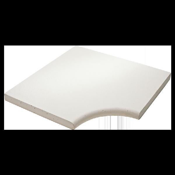 Angle droit plat ESPACE 50x50cm Ep.3,4cm luberon