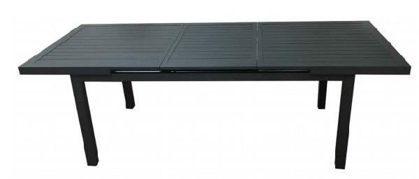Table aluminium KYOTO 240 180/240 x100cm