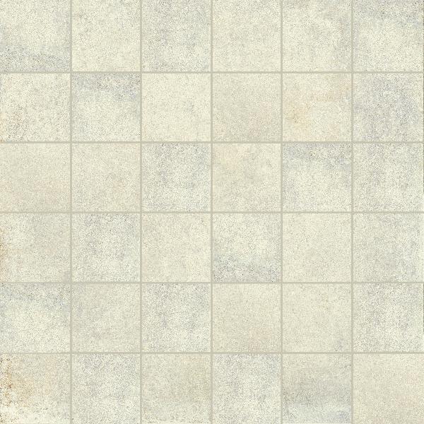 Carrelage décor MATIERE tozzetto bianco 5x5cm Ep.10mm