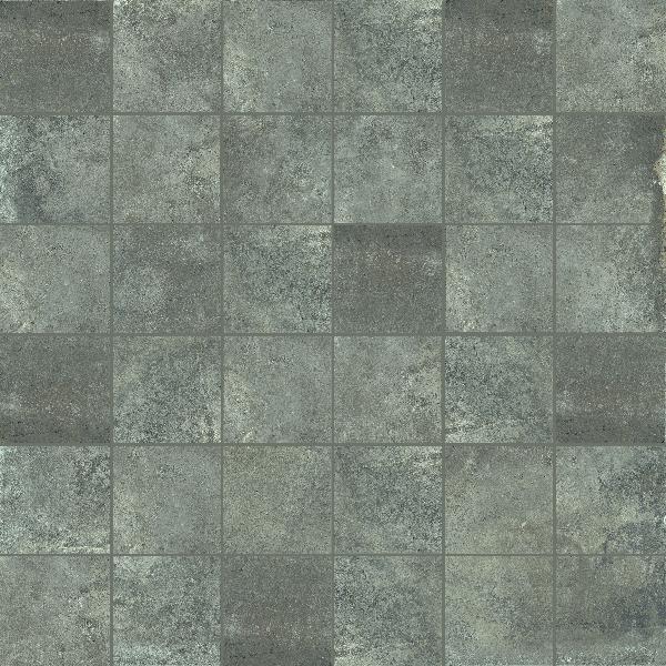Carrelage décor MATIERE tozzetto titanio 5x5cm Ep.10mm