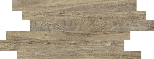 Carrelage décor MORE stick beige 20x50cm Ep.10mm