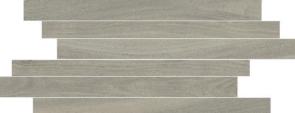 Carrelage décor MORE stick grigio 20x50cm Ep.10mm