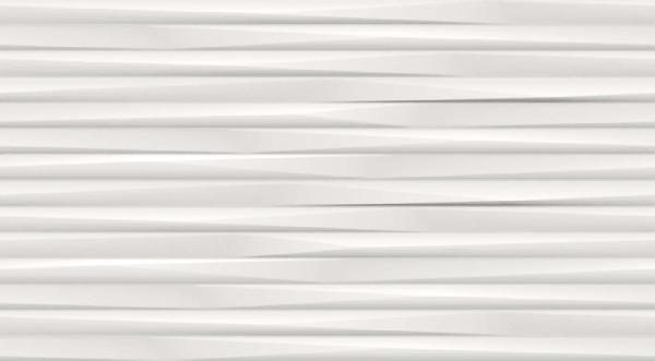 Faïence 3D WALL DESIGN ultra blade white rectifié 30,5x56cm Ep.9,5mm