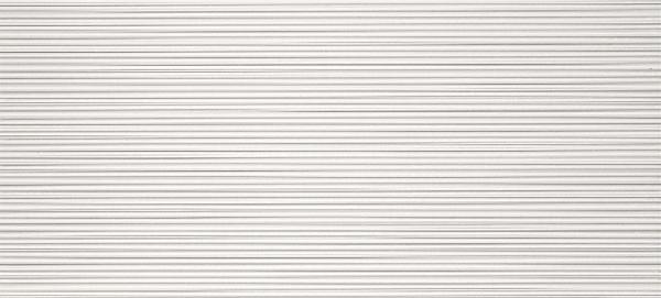 Faïence 3D WALL DESIGN line white rectifié 50x110cm Ep.11mm