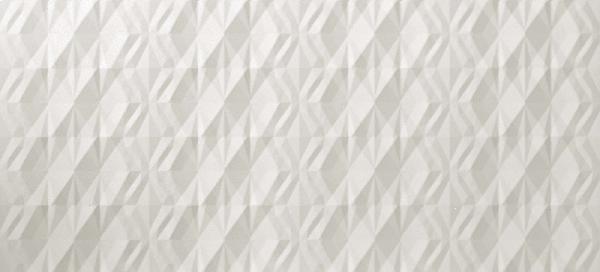 Faïence 3D WALL DESIGN kite white rectifié 50x110cm Ep.11mm