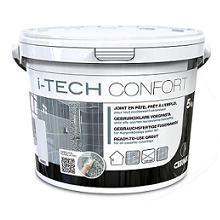 Joint I TECH CONFORT gris titane seau 5kg I TECH CONFORT