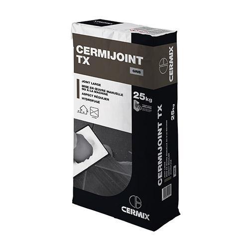 Mortier joint CERMIJOINT TX gris sac 25kg