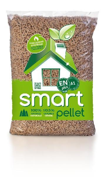 Granulés bois BIO SMART PELLET 100% épicéa EN plus A1 sac 15kg