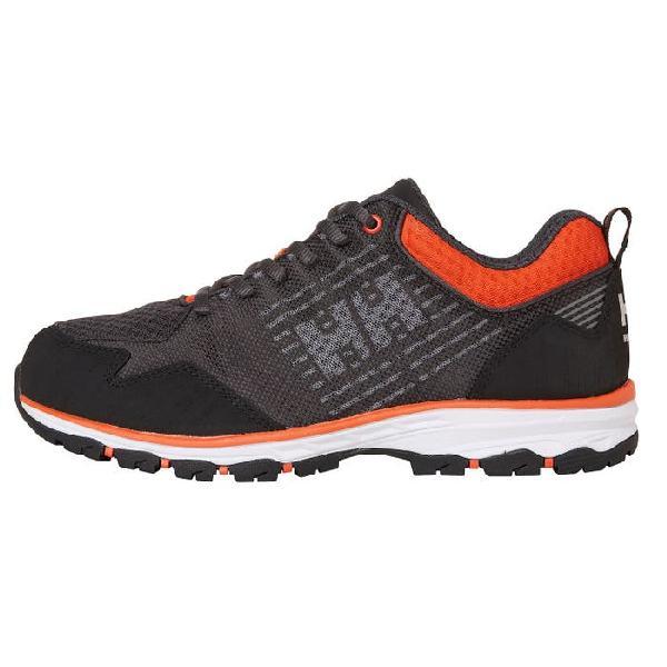 Chaussures basses CHELSEA EVOLUTION SOFT TOE noir/orange T.45