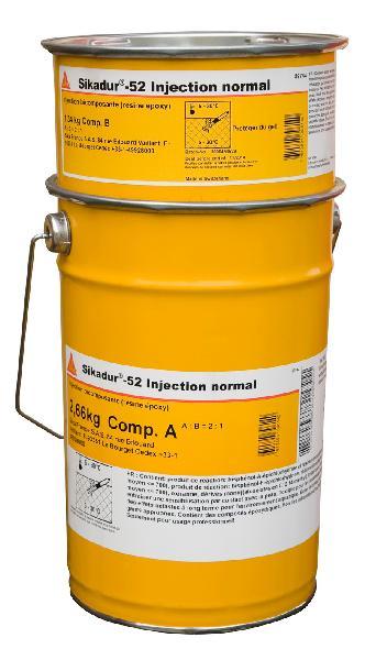 Résine époxydique SIKADUR 52 INJECTION kit 4kg