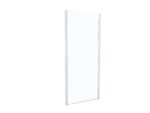 Côté fixe pour porte de douche TAHITI 80x200cm Ep.8mm blanc
