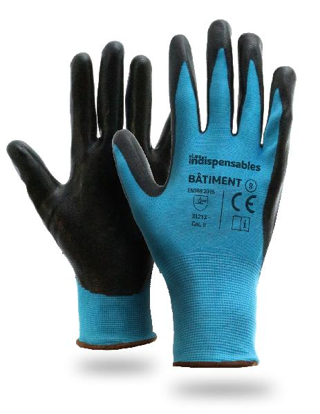 Gant BATIMENT LES INDISPENSABLES bleu T.10