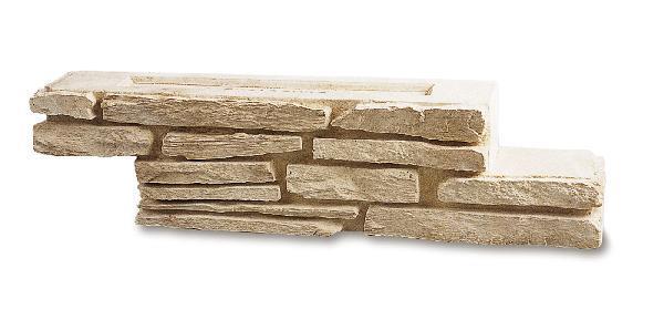 Bloc mur SCHISTONE gironde 58,5X10cm H.14 pierre reconstituée
