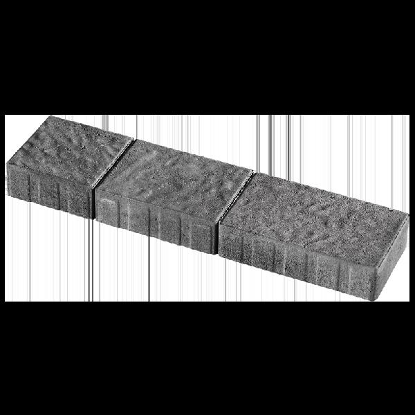 Pavé QUEBEC brut 3 formats anthracite Ep.6cm