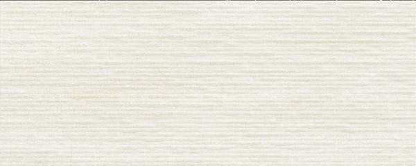 Faïence décor CROSSOVER groove white mat satiné 20x50cm Ep.7mm